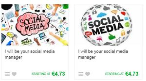 fiverr social media managers