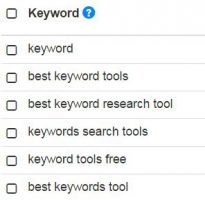What is a low competition keyword