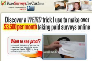 Is Take Surveys For Cash Legit