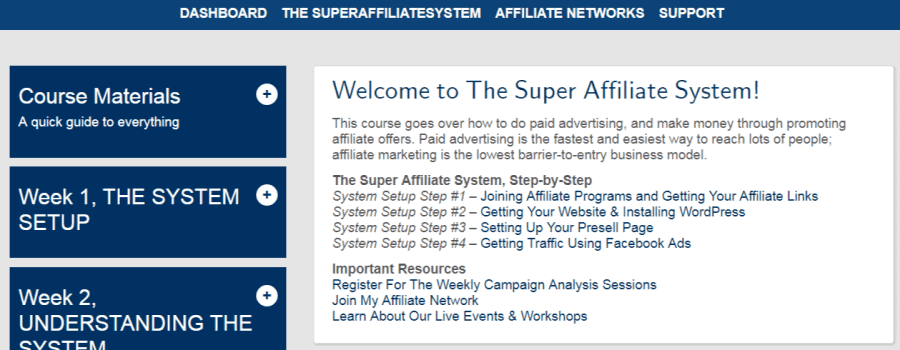 Super Affiliate System - Set up process