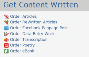 Content type - Hirewriters