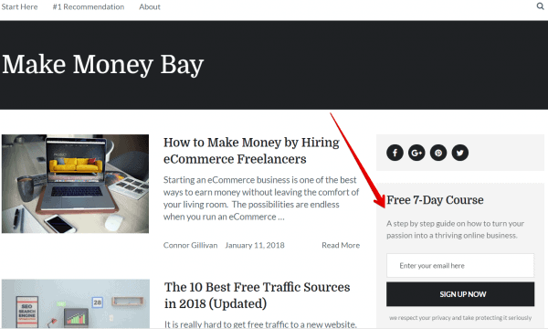 make money bay email marketing
