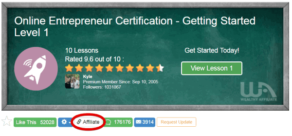 Online Entrepreneur Certification Intro