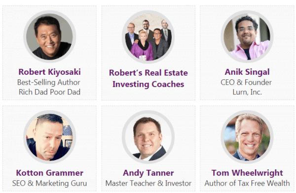 RichDad Summit speakers
