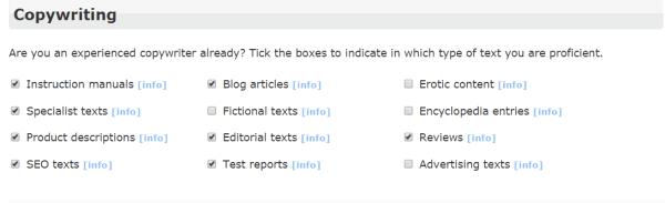 clickworker.com skills