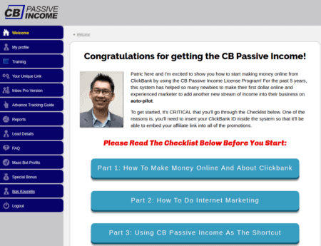 CB Passive Income Inside