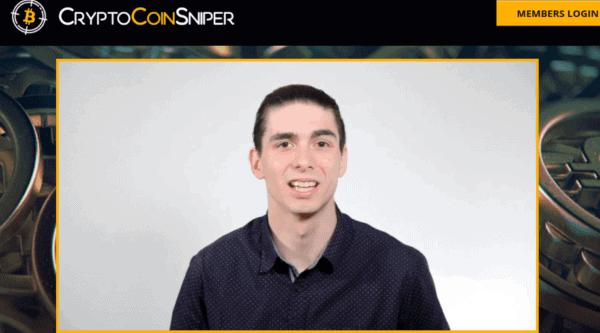 Fake testimonial 2 crypto coin sniper