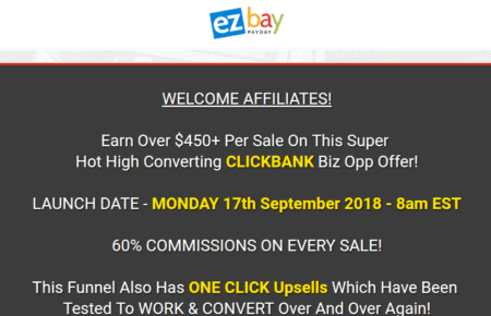 EZ Bay Payday pricing