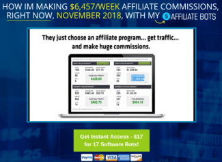Is Affiliate Bots A Scam Or $6,457 Per Week?