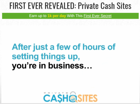 claims - private cash sites