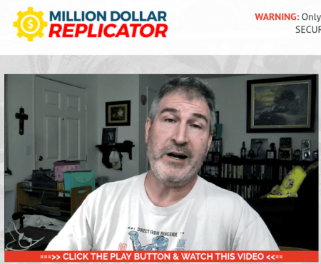 million dollar replicator fake testimonial