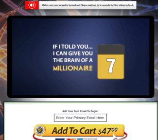 Millionaire's Brain Academy Review: Scam Or Legit Program?