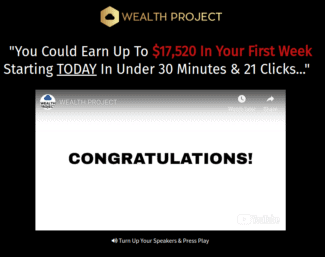 Wealth Project Review: Scam Or Legit?