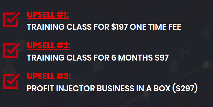 profit injector pricing