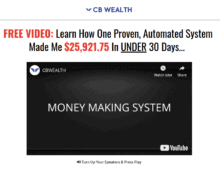 cb wealth review - scam or legit?