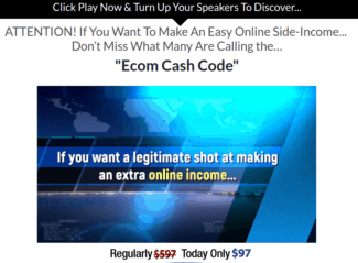 ecom cash code review - scam or legit?