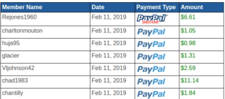 payment proof rewarding ways