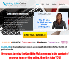 is writing jobs online a scam? - review