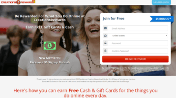 Is CreationsRewards a scam - review
