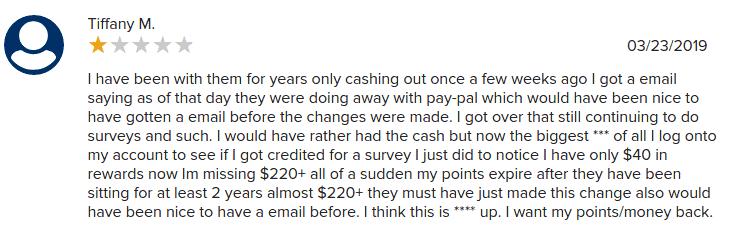 product report card complaint 1