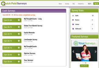 is quick paid surveys legit - review