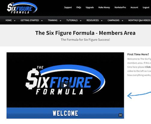 six figure formula members area