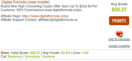 digital formula pricing