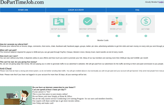 is do part time job legit or a scam? - review