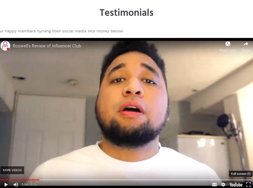 fake testimonial - notion cash
