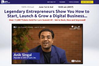Lurn Summit Review: Legit Program By Anik Signal? - MakeMoneyBay