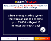 10 minute paydays review - scam or legit?