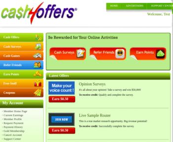 cash4offers members area