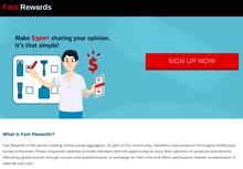 fast rewards review - scam or legit?