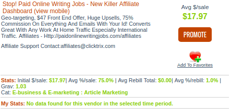 paid online writing jobs pricing