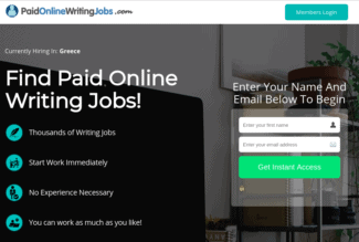 paid online writing jobs review - scam or legit