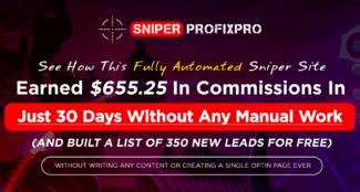 sniper profix pro review - scam or legit?