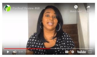fake testimonial video paidleaf