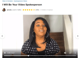 fake testimonial woman