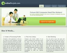 online flex job review - scam or legit?