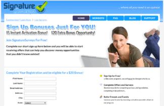 signature surveys review - scam or legit?