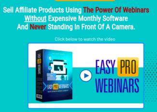 easy pro webinars review - scam or legit?