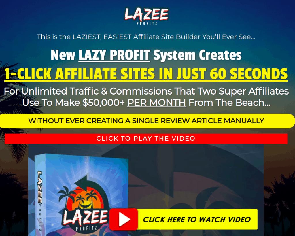 lazee profitz review - scam or legit?