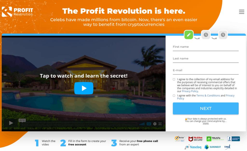 profit revolution review - scam or legit?