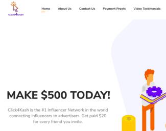 click4kash review - scam or legit?