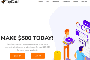 tap 2 cash review - scam or legit?