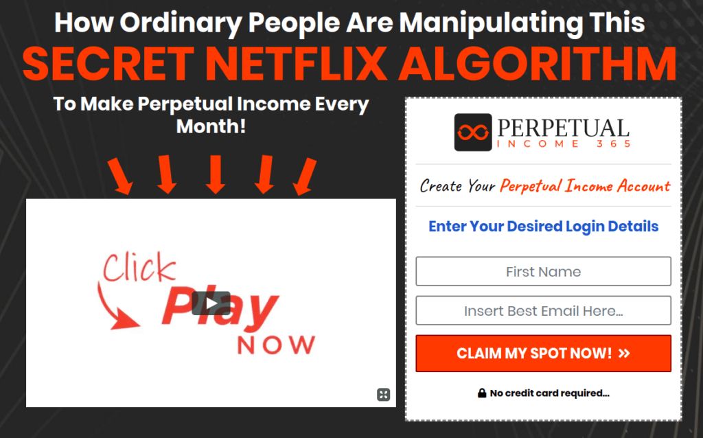 perpetual income 365 review - scam or legit?